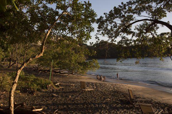 Costa Rican Beach Family
