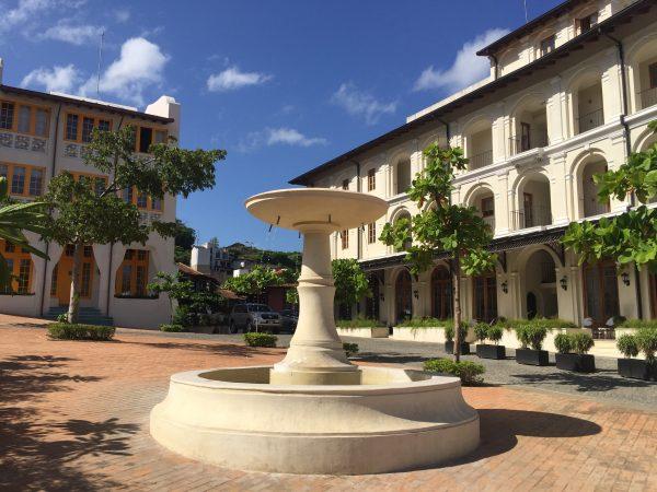 fountains around town contribute to the urbanism of Las Catalinas